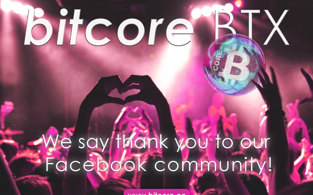 Bitcore BTX community growing every day | 2000+ facebook members