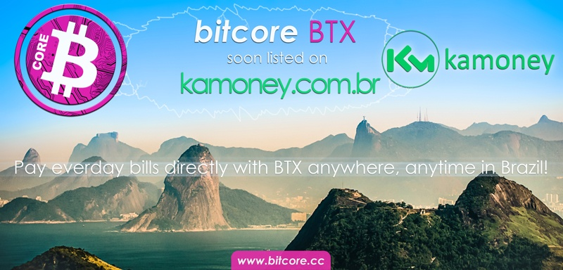 Pay everyday bills with BTX in Brazil – kamoney.com.br listing