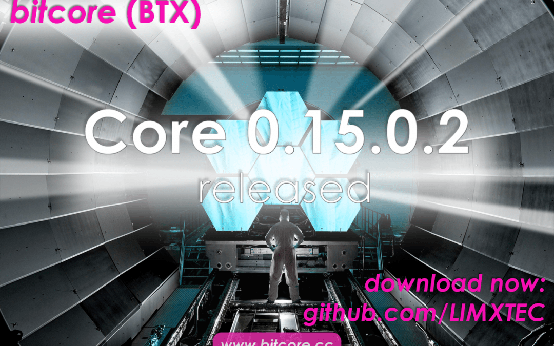 Bitcore Core 0.15 released