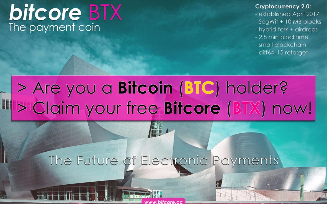 Are you a Bitcoin holder? – Claim your free BTX now!