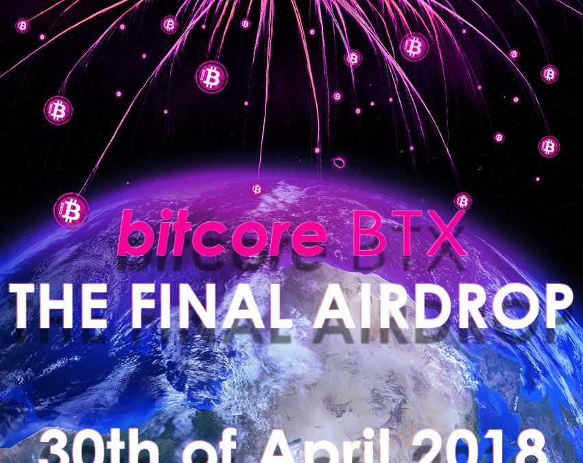 FINAL AIRDROP, 30th of April 2018