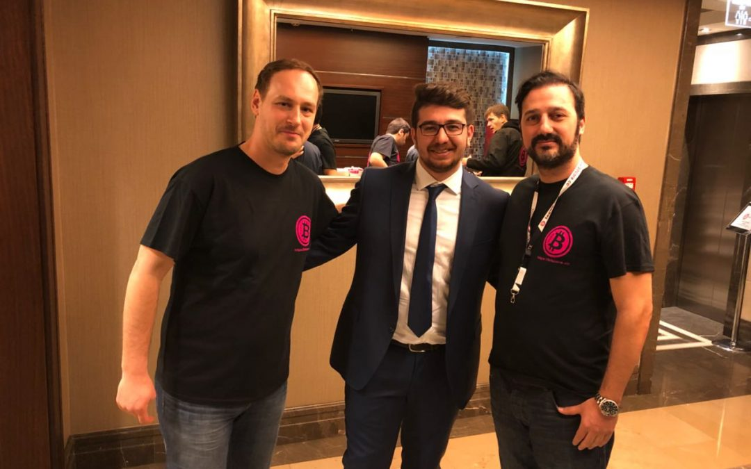 Bitcore Istanbul business meeting