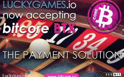 Luckygames.io – First Gaming Site Accepting BTX