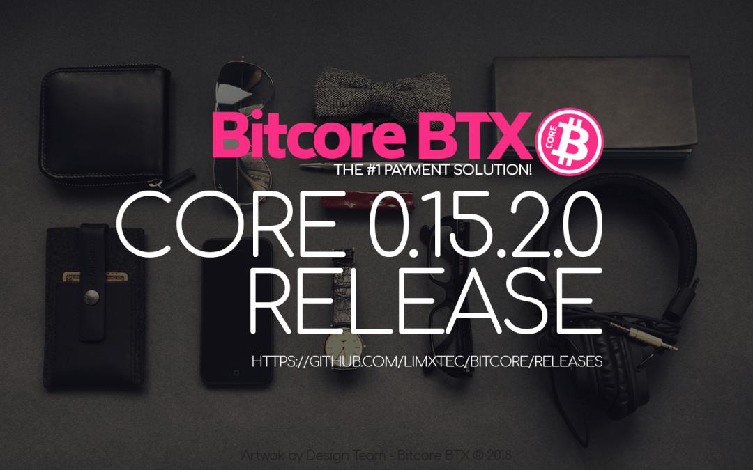 Update Your Wallet Bitcore Core 0.15.2.0