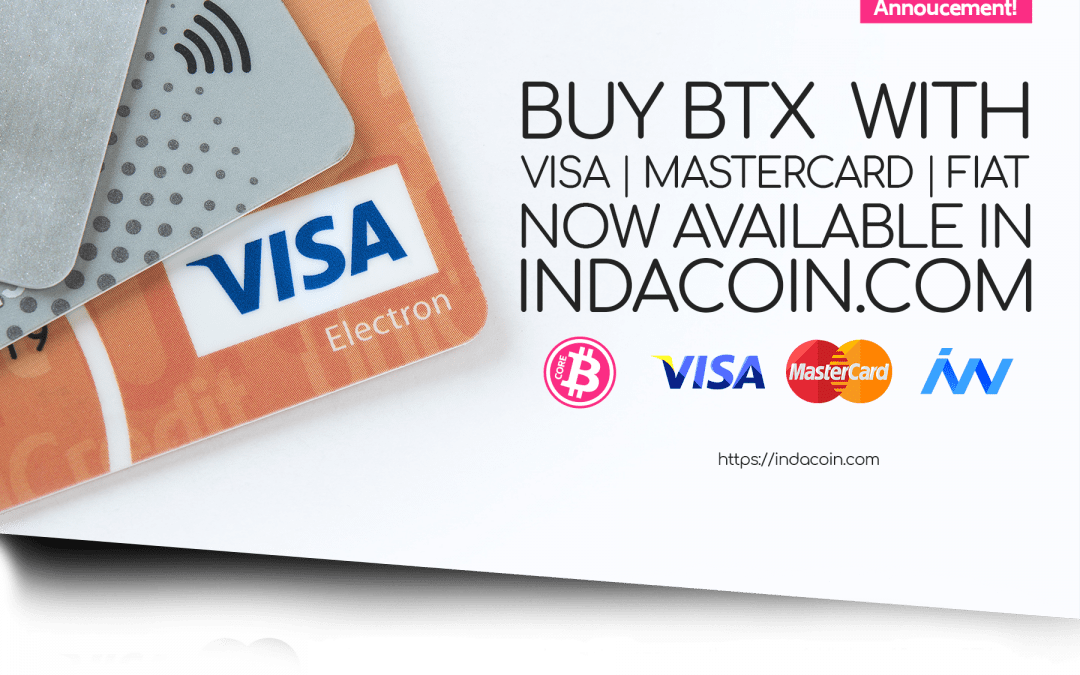 It's a Fact! BTX is at Indacoin.com / Tuto buy BTX on Indacoin