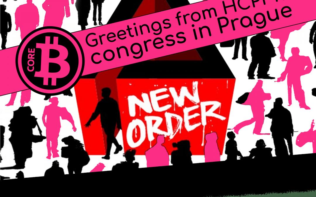Greetings from HCPP18 congress in Prague.