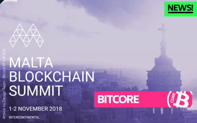 Bitcore @ Malta Blockchain Summit report