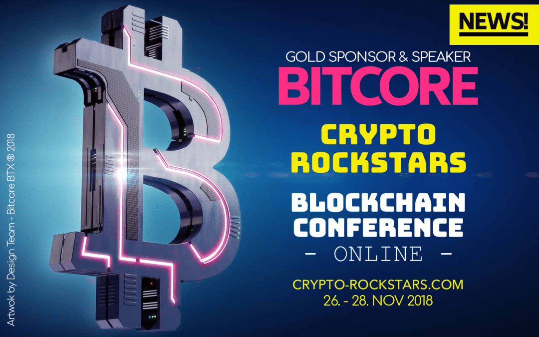 Bitcore BTX Sponsors of the Crypto-Rockstar Conference 2018