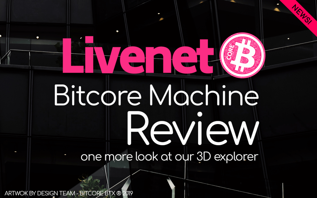 Livenet; Bitcore Machine