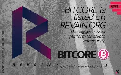 Bitcore – Reviews, Price (USD) & Volume   Revain