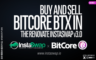 InstaSwap v3.0 is finally live and #BitCore swaps are back online! #Swap your $BTX with other coins or vice versa.
