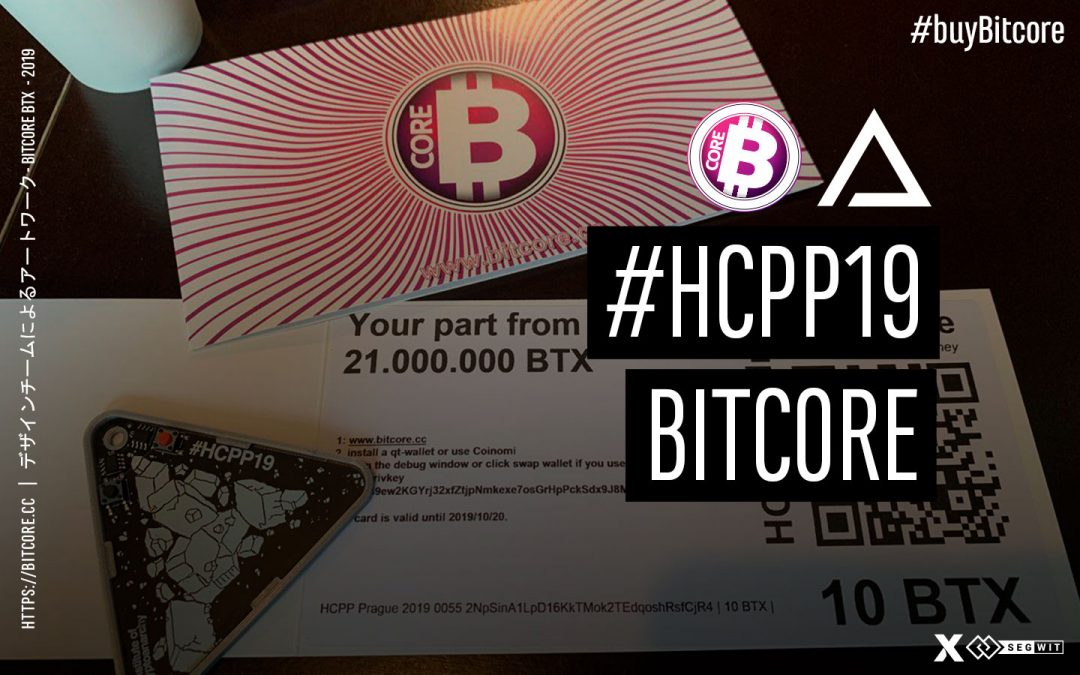 BitCore team attended in #HCPP19 hacker congress