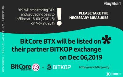 BitZ will stop trading BTX