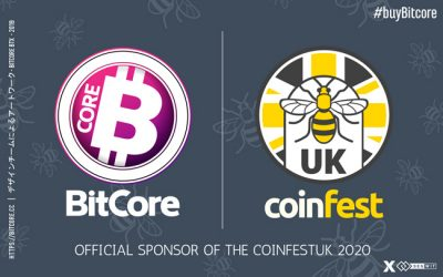 BitCore Official Sponsor of the CoinFest UK 2020