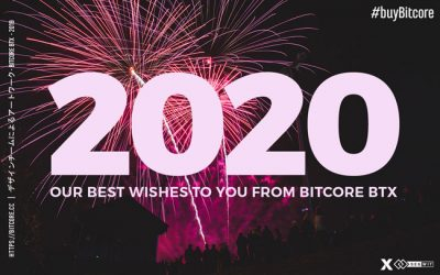 From BitCore we wish You a Happy New Year 2020!