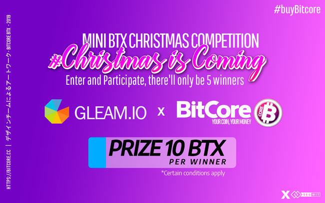 Christmas is Coming with BitCore Nº1
