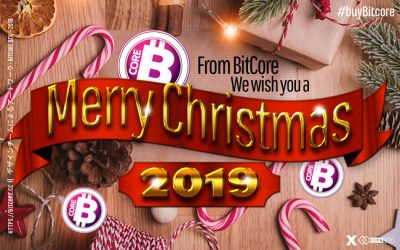 From BitCore we wish You a Merry Christmas 2019