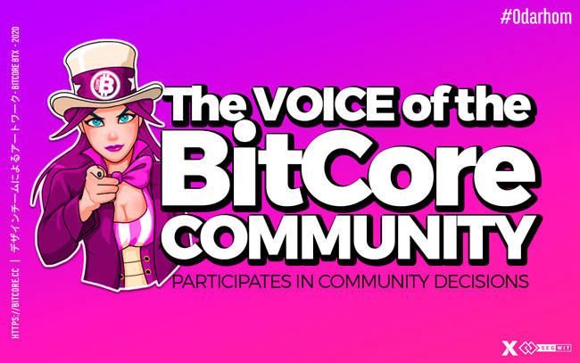 BitCoreans… make your voice heard
