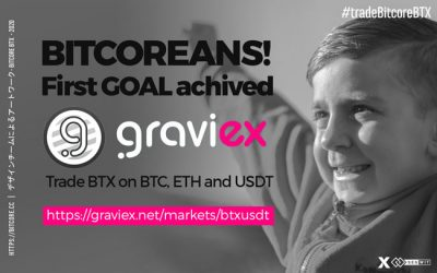 BTX integration on graviex has been completed!