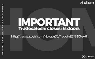 TradeSatoshi exchange closes its doors