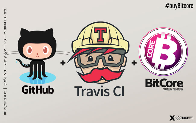 BitCore BTX with Travis CI