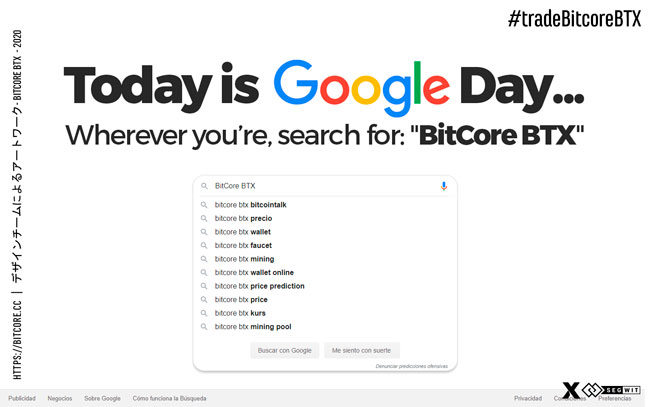 Today is Google Day