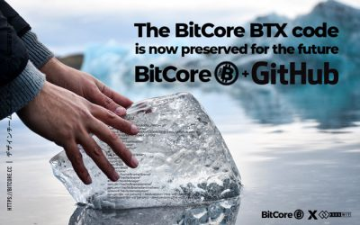 BitCore BTX code will be frozen at least 1000 years.