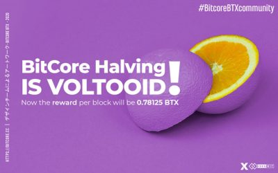 BitCore Halving is VOLTOOID!